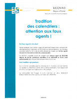 SICOVAD calendriers