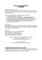 PV séance du 12 juin 2021