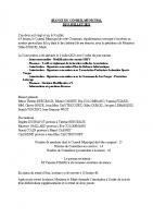 PV séance du 9 juillet 2021