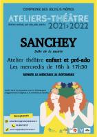 Flyer personnalisé Sanchey – ateliers 21-22